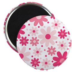 Pretty In Pink Flowers 2.25