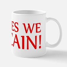 YES WE CAIN SHIRT BUMPER HERM Mug
