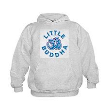 Little Buddha Yoga Symbol Kids Yoga Clothes Hood B