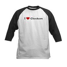 I Love Checkers Tee