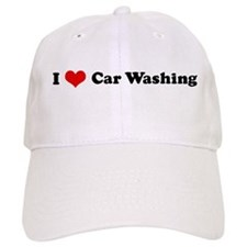 I Love Car Washing Baseball Cap