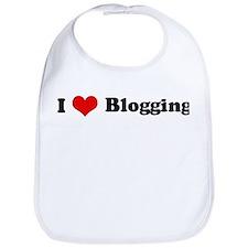 I Love Blogging Bib