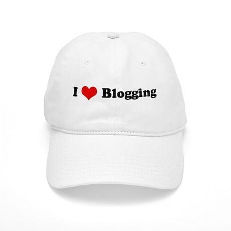 I Love Blogging Cap