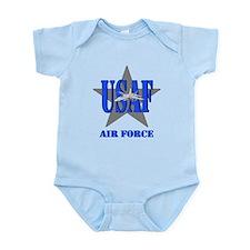 Cute Airforce Infant Bodysuit