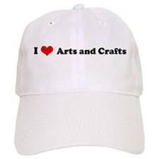 I Love Arts and Crafts Hat
