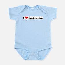 I Love Animation Infant Creeper