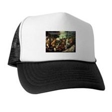 Intoxication Nietzsche Art Trucker Hat