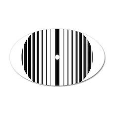 Doppler Effect 22x14 Oval Wall Peel