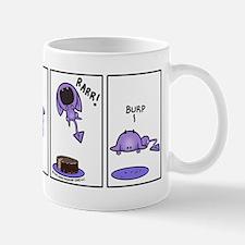 Purple Devil Jumping for Food Mug