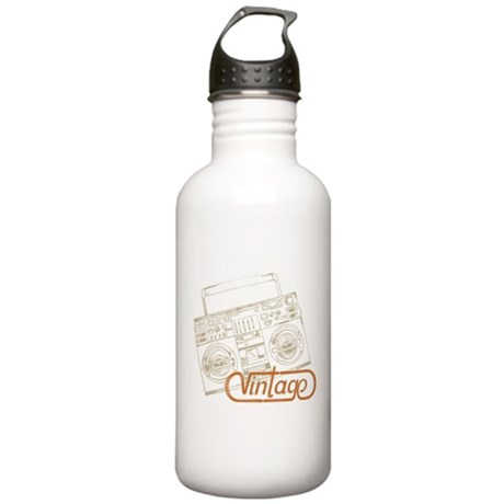 VINTAGE BOOMBOX Stainless Water Bottle 1.0L