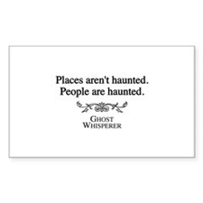 Ghost Whisperer Haunting Decal