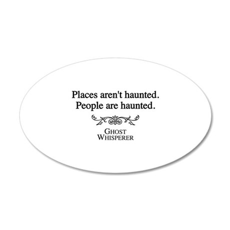 Ghost Whisperer Haunting 22x14 Oval Wall Peel