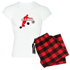 Albanian Football Player Pajamas