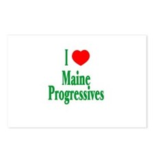 I Love Maine Progressives Postcards (Package of 8)