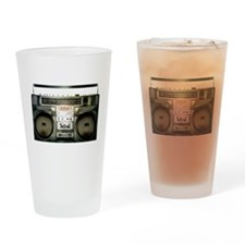 RETRO BOOMBOX Drinking Glass