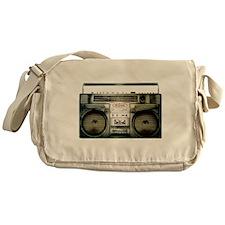 RETRO BOOMBOX Messenger Bag