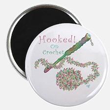 Hooked On Crochet Magnet