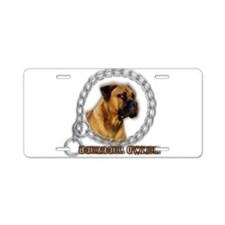 Boerboel Owner Aluminum License Plate