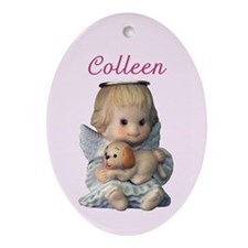 Colleen Ornament (Oval)