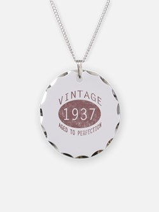 1937 Vintage (Red) Necklace