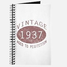 1937 Vintage (Red) Journal