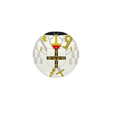 Teutonic Order Grandmaster Mini Button