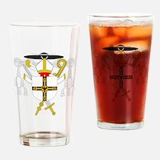 Teutonic Order Grandmaster Drinking Glass