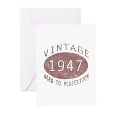 1947 Vintage (Red) Greeting Cards (Pk of 10)