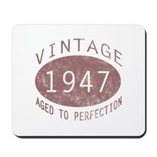1947 Vintage (Red) Mousepad