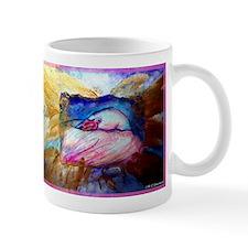 Flamingo, wildlife, art, Mug