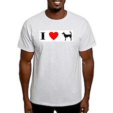 I Heart Wire Podengo T-Shirt