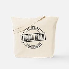Laguna Beach Title Tote Bag