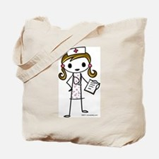 Cute Nurse Tote Bag