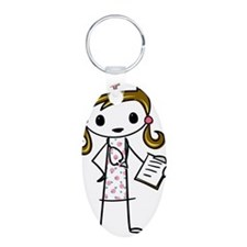 Cute Nurse Keychains