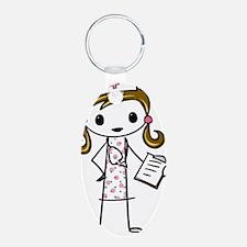 Cute Nurse Keychains