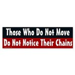 Bumper Sticker on Movement and Chains