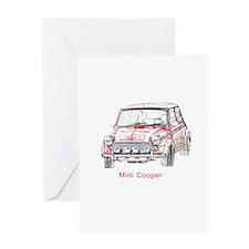 Mini Cooper Greeting Card