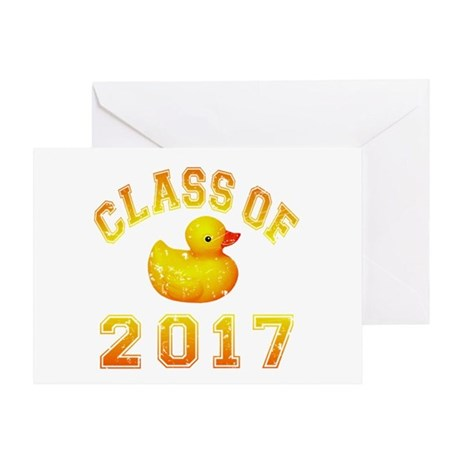 Class Of 2017 Duckie Greeting Card