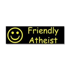 Friendly Atheist Car Magnet 10 x 3