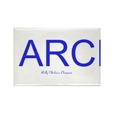 Cute Rally arch Rectangle Magnet