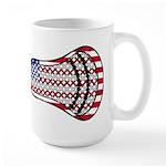 Lacrosse FlagHead Large Mug