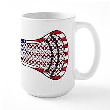 Lacrosse FlagHead Mug