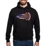 Lacrosse FlagHead Hoodie (dark)