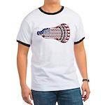Lacrosse FlagHead Ringer T