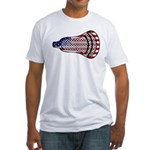 Lacrosse FlagHead Fitted T-Shirt