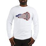 Lacrosse FlagHead Long Sleeve T-Shirt