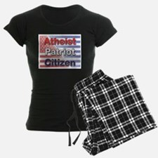Atheist, Patriot, Citizen Pajamas