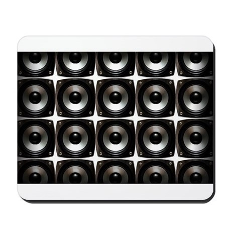 WALL OF SPEAKERS Mousepad