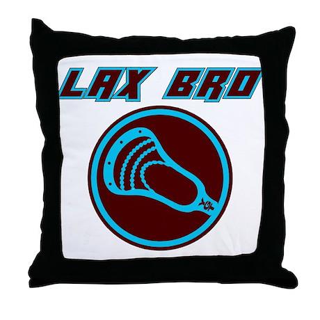 Lacrosse LaxBro Star Throw Pillow