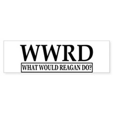 WWRD-White Bumper Sticker